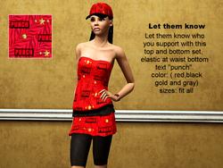Stylish Punch Merchandise Pattern At Sims 3