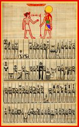 Litany of Ra - Godforms