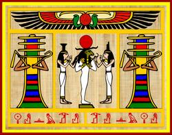 Ra Becoming Osiris, Osiris Becoming Ra