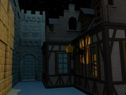 Torras at night passage