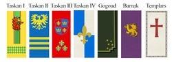 Hype Kingdoms Flags