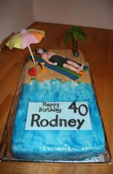 On the Beach Cake