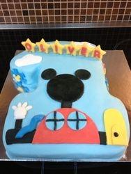 Mickey Mouse no. 1 Cake
