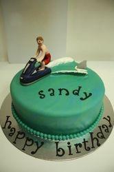 Jetski Cake