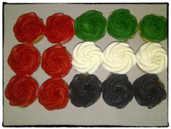 UAE National Day Cupcakes