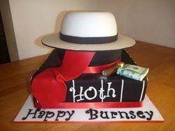 Speakeasy 1920s Gangster Cake