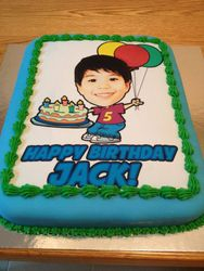 Personalised Picture Cake