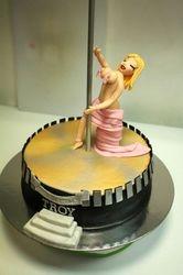 Pole Dancer Cake
