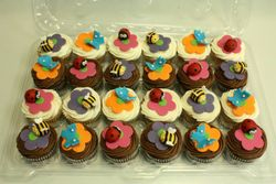 Bugs and Butterflies Cupcakes