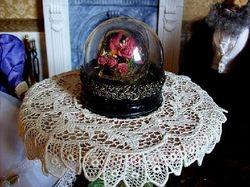 Victorian cloche dome