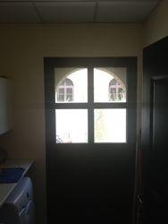 Half Glazed Utility room Door