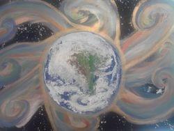Arora Earth close up