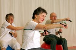 Seniors Maintain Fitness