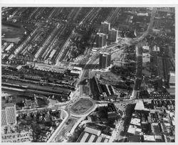 Victoria Circus redevelopment 1960s,1