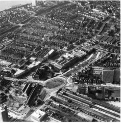 Victoria Circus redevelopment 1960s,2