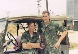 """MAG 11 area """"Fender"""" with Sgt. Skip Raimer"""