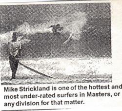 Strickolupo throwing chunks