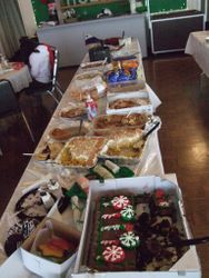 Food Table AFTER