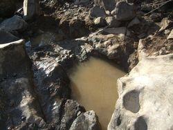 The hole we dug