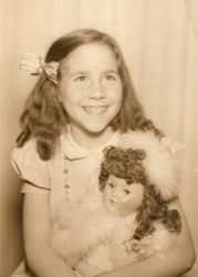 My Mother with her favorite doll