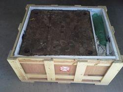 Butcher block table 1