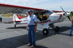 Bobby Cox and his go-everywhere Smith Super Cub