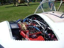 Mazda 13B twin rotor powerplant.