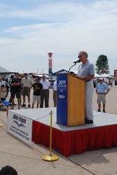 Charles Stites make Able Flight presentation