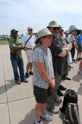 EAA members at Able Flight Ceremony