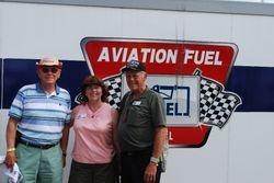 Harold Johnson, Sandy and Jim Dukeman at the U-Fuel display