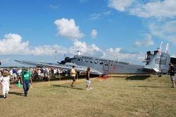 Junkers 52 flew over from Switzerland!