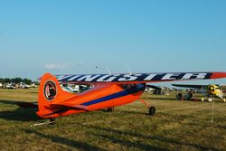 This C-190 had bright markings