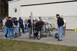 A good crowd appeared at the Bear Creek Skunk Works, weather was perfect