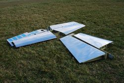 The BCAC's RV-7 empennage.