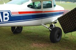 Check out the tundra tires on this C172