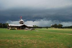Dark clouds Thursday PM