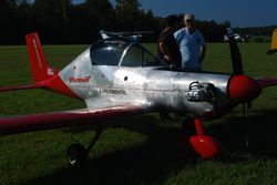 Hummelbird powered by a half-VW engine