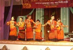 A Tanchangya traditional dance