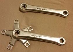 Sugino GT BMX Crankset