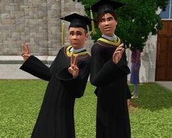 Graduation snaps