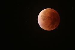Post mid eclipse, 71mm Refractor