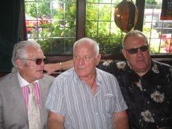 Joe Cornelius, Sean Regan and Banger Walsh