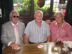 Joe Cornelius, Sean Regan and Ray Luxford