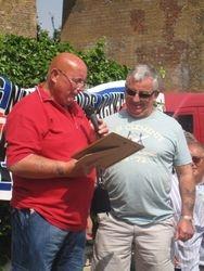 Mel Stuart and Tony White