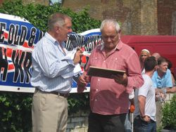 Frank Rimer and Ray Luxford