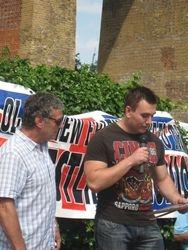 Steve Grey and Yorghos