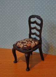 Tri-ang Queen Anne Period Scale Model Chair