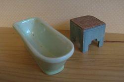 Bath and Bathroom stool