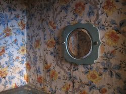 Bevelled Mirror in the Bedroom