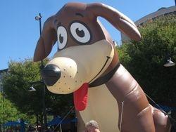 The Strut Your Mutt Mascot